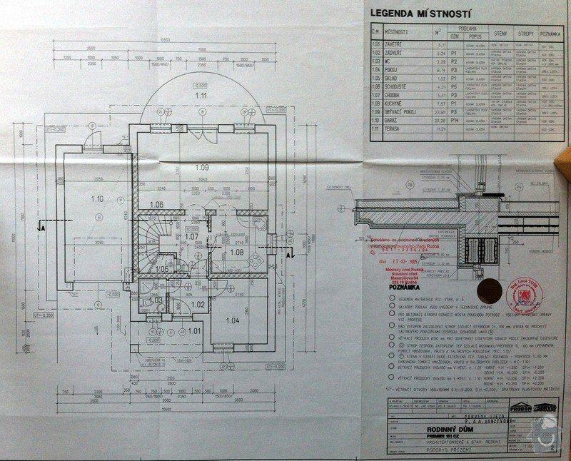 Podlahové topení pro patrový RD: pudorys_prizemi