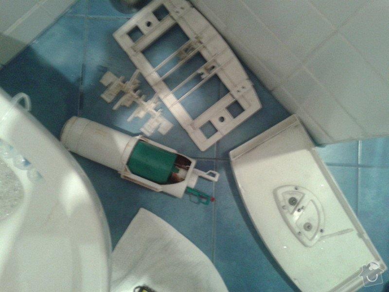 Instalace nového splachovatko na Geberit WC.: 20130611_113222
