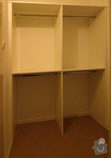 Vestavěné skříně, šatna: IMG_5222
