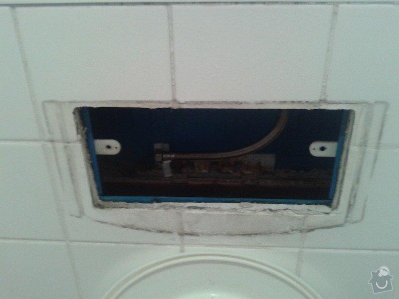 Instalace nového splachovatko na Geberit WC.: 20130611_113201