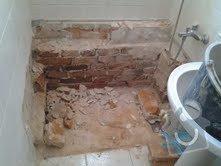 Částečná rekonstrukce koupelny: nalezencova
