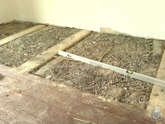 Pokládka dřevěné podlahy - DUB - 3 místnosti: Fotografie0109