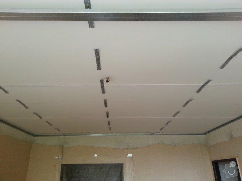 Sádrokarton na strop: 20130606_111118