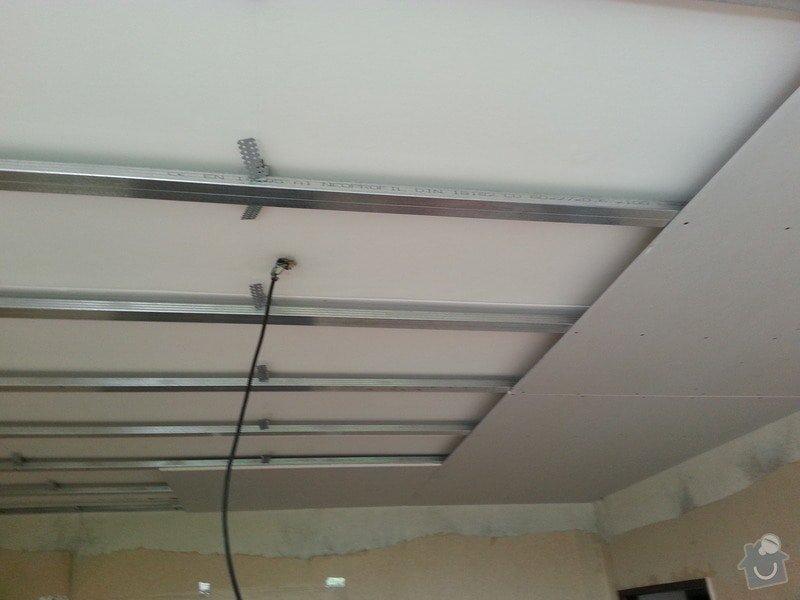 Sádrokarton na strop: 20130606_115521