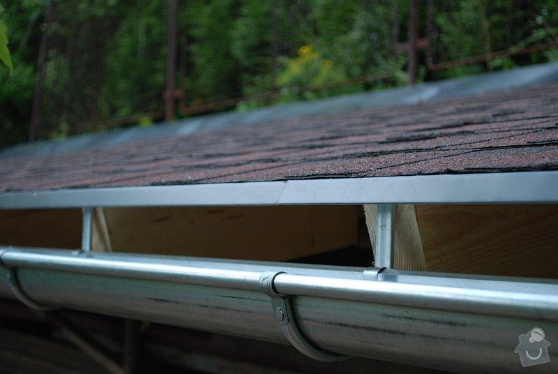 Střecha nad dřevník 2,5x9m - VIDEO: DSC_2568