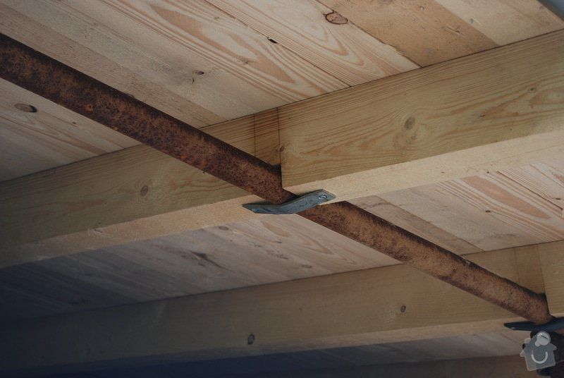 Střecha nad dřevník 2,5x9m - VIDEO: DSC_2569