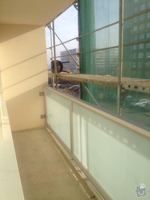 Zasklení panelákové lodžie: photo