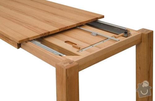 Rozkládací stůl, barový pultík a kuchyňská skříňka: stul_rokl_buk