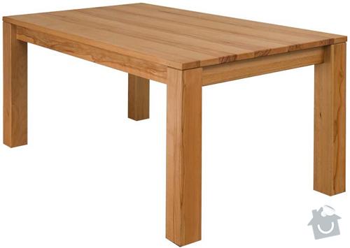 Rozkládací stůl, barový pultík a kuchyňská skříňka: stul_rokl_buk1