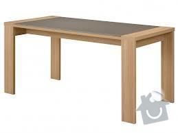 Rozkládací stůl, barový pultík a kuchyňská skříňka: stul_rokl_sklo