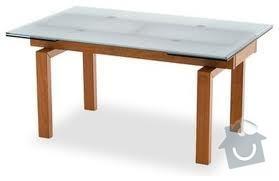 Rozkládací stůl, barový pultík a kuchyňská skříňka: stul_rokl_sklo2