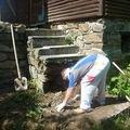 Rekonstrukce terasy u chaty vlkov u tisnova terasa rekonstrukce chata vlkov 017