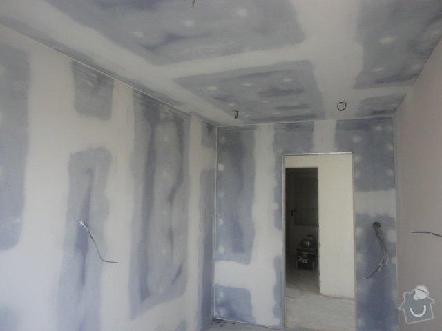 Sádrokartonový podhled + drobné zednické práce: DSC00913