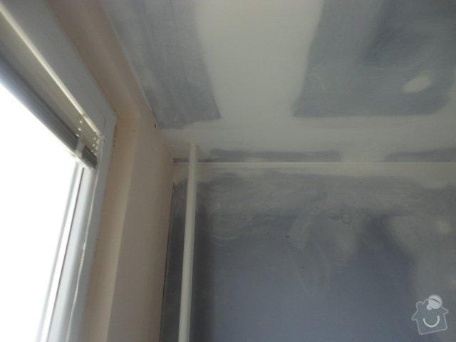 Sádrokartonový podhled + drobné zednické práce: DSC00915