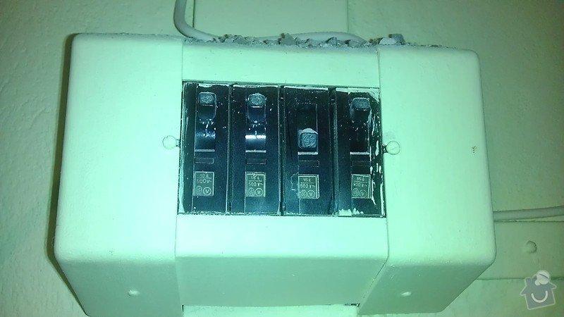Připojení elektrického sporáku: IMAG2222