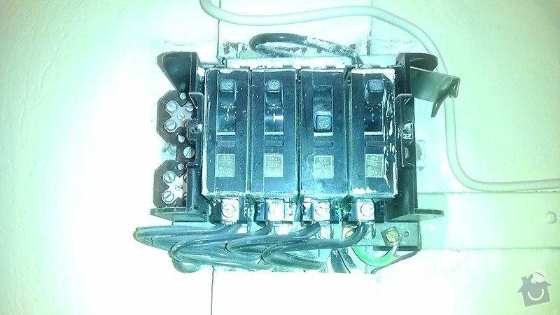 Připojení elektrického sporáku: IMAG2226