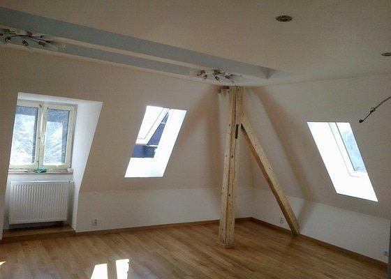 Kompletní rekonstrukce podkroví
