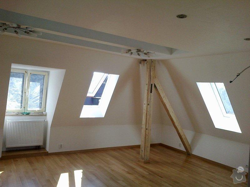 Kompletní rekonstrukce podkroví: 2
