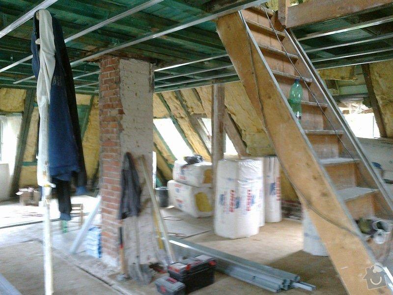 Kompletní rekonstrukce podkroví: 4