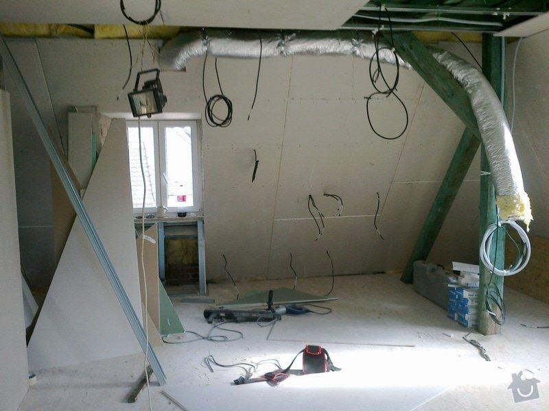 Kompletní rekonstrukce podkroví: 07102011264