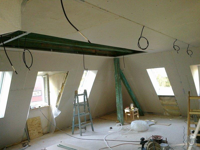 Kompletní rekonstrukce podkroví: Sikminy