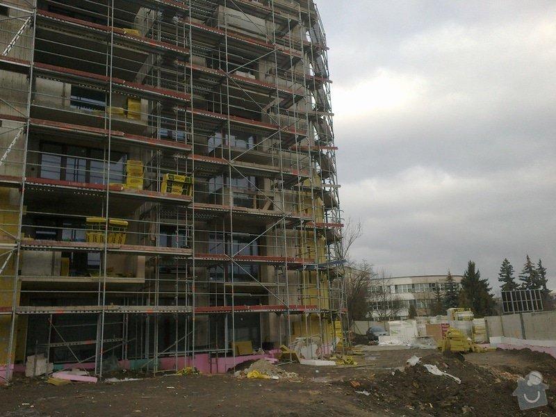 Zateplení panelového domu,zednické práce: 20022012417