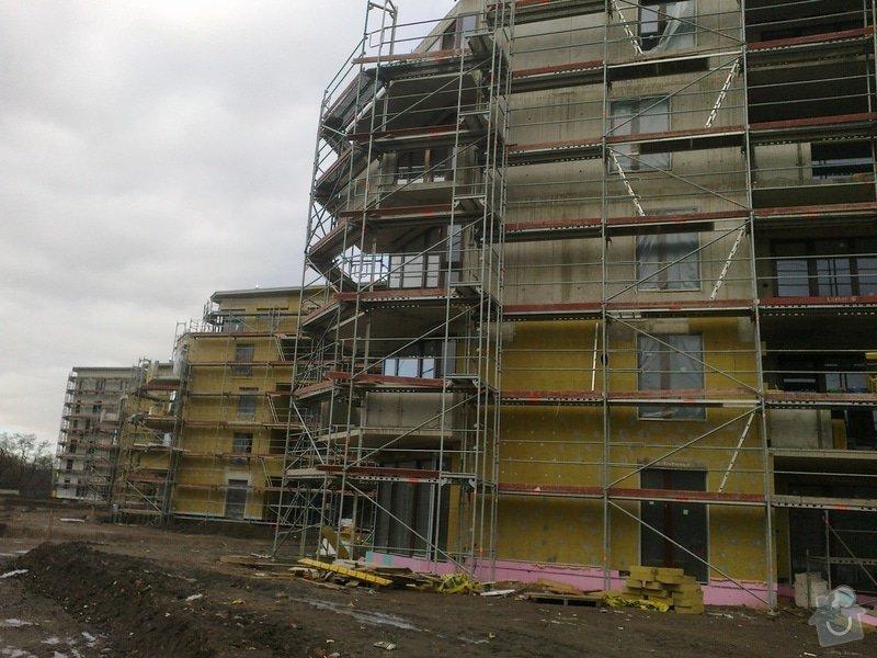 Zateplení panelového domu,zednické práce: 20022012418