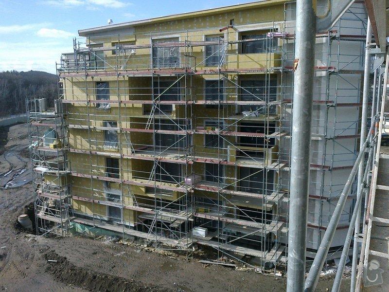 Zateplení panelového domu,zednické práce: 27022012436