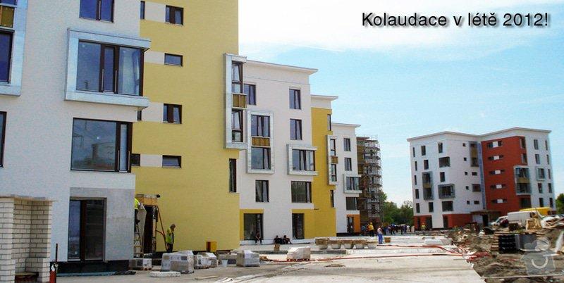 Zateplení panelového domu,zednické práce: kp0