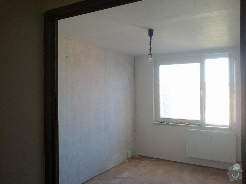 Kompletní rekonstrukce bytu,3+1,elektroinstalace,zednické práce,podlahy,obklady,dlažby,voda,plyn: 25032012480