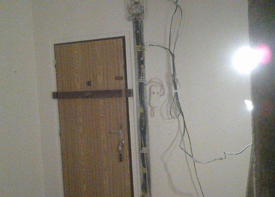Kompletní rekonstrukce bytu,3+1,elektroinstalace,zednické práce,podlahy,obklady,dlažby,voda,plyn