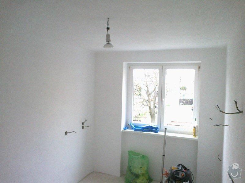 Rekonstrukce rekreační chaty,luxusní koupelna se sanou,podkroví,podlahy,zateplení: 6