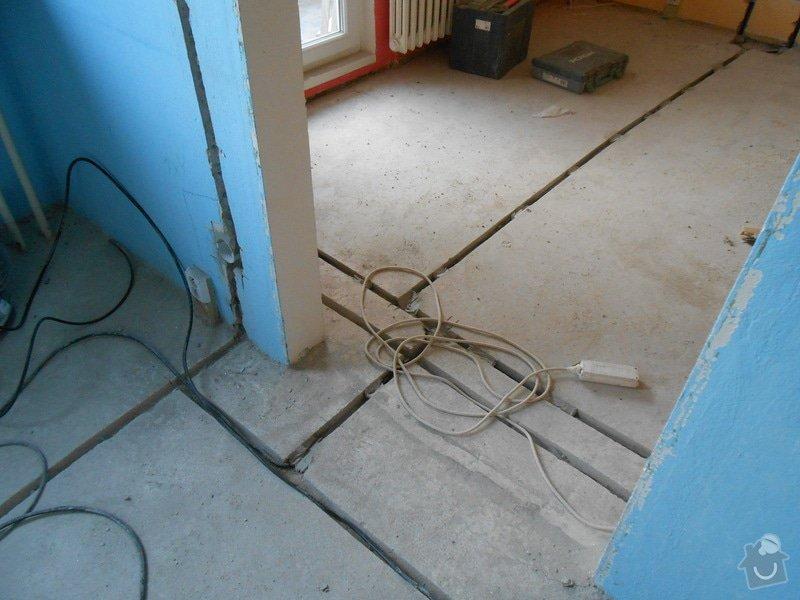 Elektroinstace panelový byt: Duben2013_138