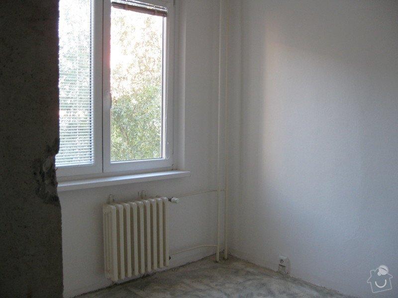 Rekonstrukce bytu - podlah (stěrkování a položení PVC 22m2 a plovoucí podlahy 30m2a koberce 20m2) a dveří (troje posuvné dveře z toho jedny do pouzdra): fotky_mamca_183