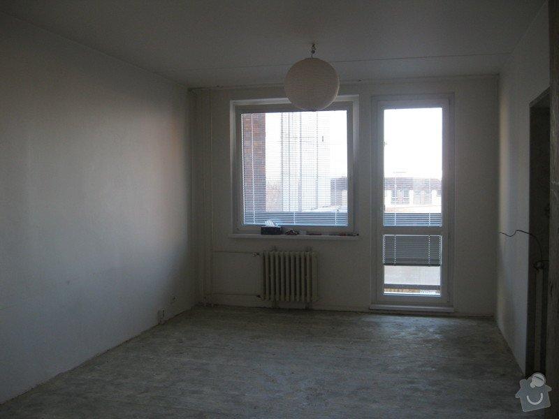 Rekonstrukce bytu - podlah (stěrkování a položení PVC 22m2 a plovoucí podlahy 30m2a koberce 20m2) a dveří (troje posuvné dveře z toho jedny do pouzdra): fotky_mamca_184