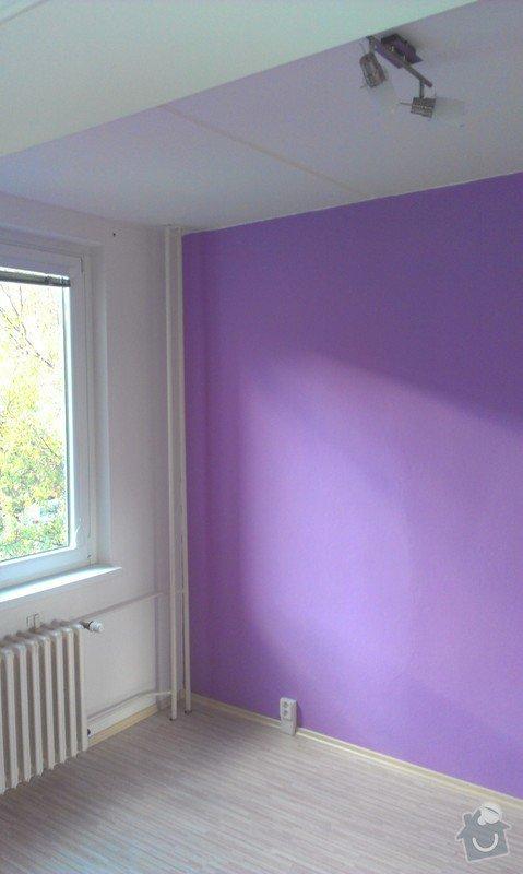 Rekonstrukce bytu - podlah (stěrkování a položení PVC 22m2 a plovoucí podlahy 30m2a koberce 20m2) a dveří (troje posuvné dveře z toho jedny do pouzdra): IMAG0262