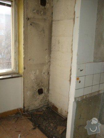 Rekonstrukce bytu - elektro + koupelna : DSCF3363