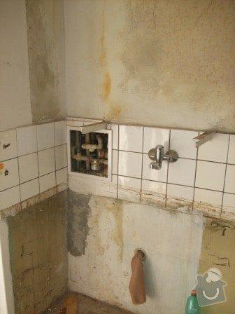 Rekonstrukce bytu - elektro + koupelna : DSCF3364