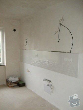 Rekonstrukce bytu - elektro + koupelna : DSCF3490