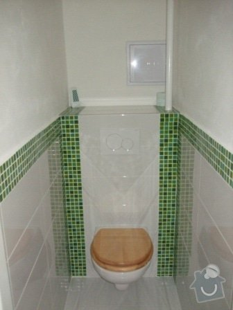Rekonstrukce bytu - elektro + koupelna : DSCF3494