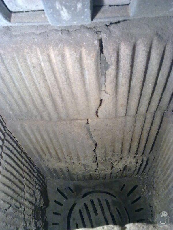 Oprava šamotové vystýlky litinových kamen: Obraz0061