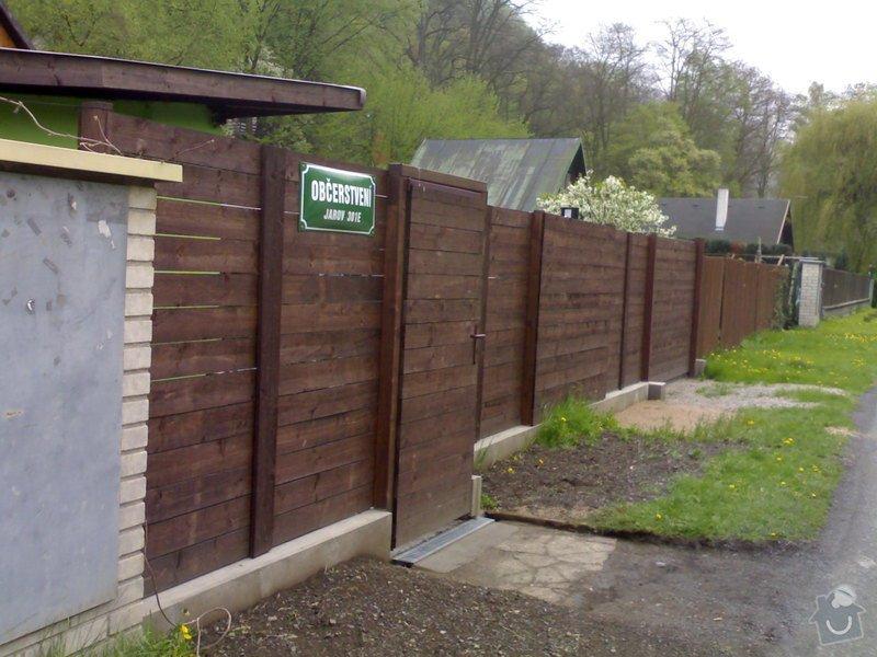Výstavbu plotu: foto_plot