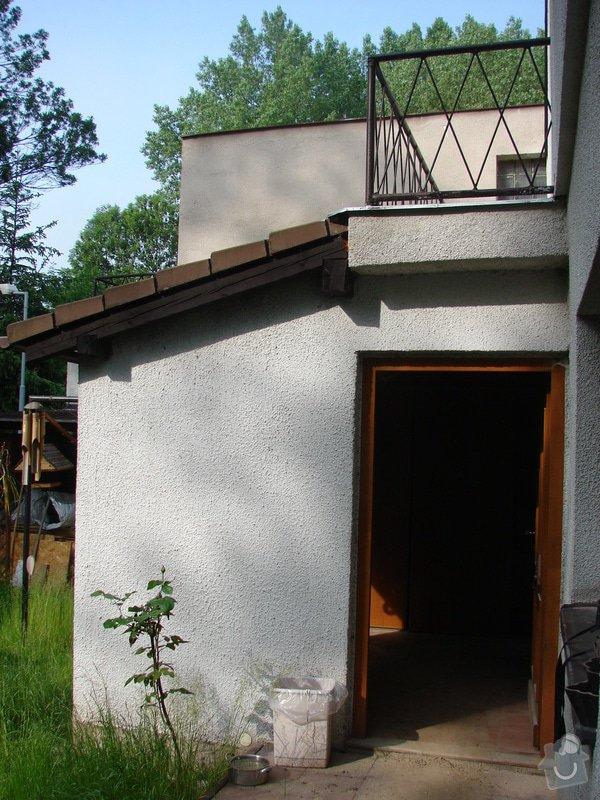 Přístavba místnosti a zastřešení balkonu: DSC08417