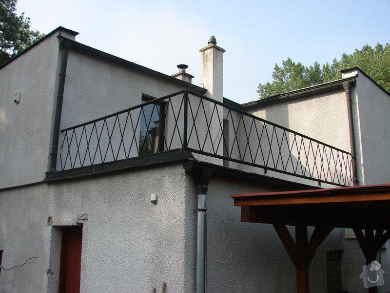 Přístavba místnosti a zastřešení balkonu: DSC08424