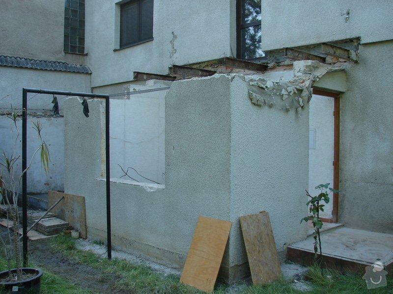 Přístavba místnosti a zastřešení balkonu: DSC08493