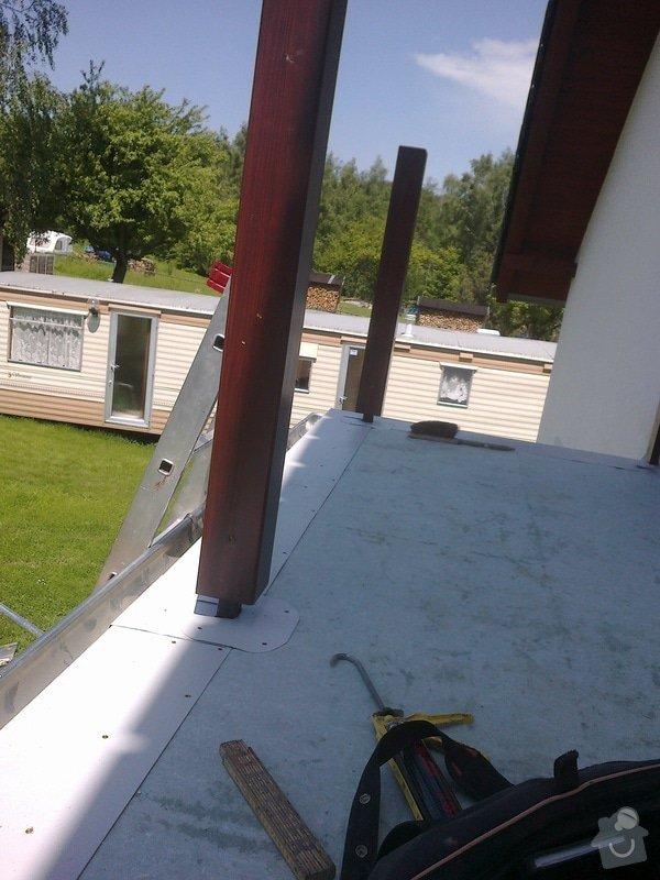 Oplechování balkónu,včetně okapu,cca 4-5m2: 04012011268