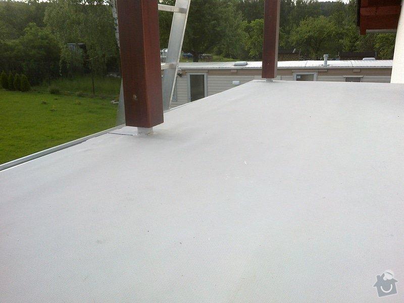 Oplechování balkónu,včetně okapu,cca 4-5m2: 04012011271
