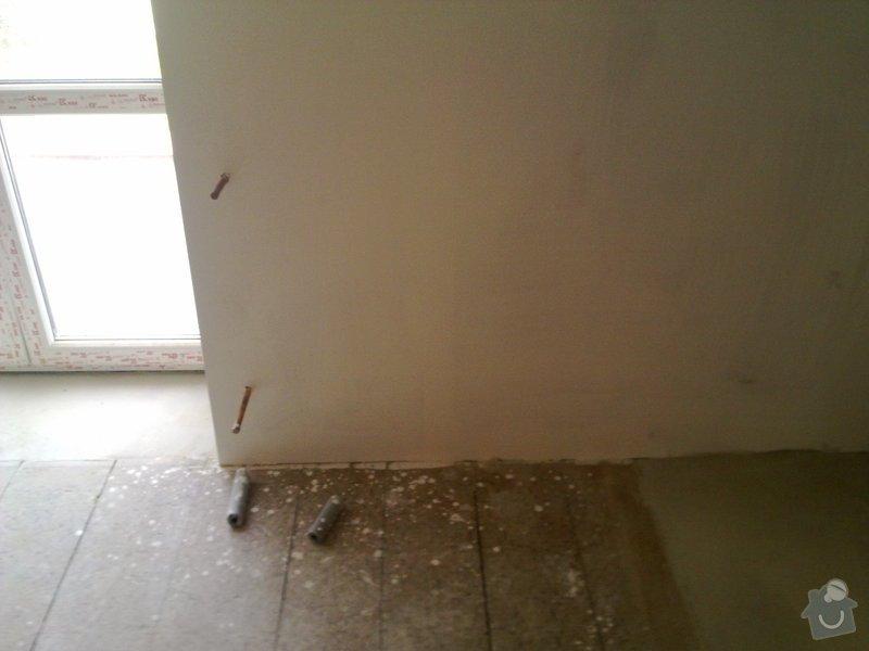 Montáž a připojení radiátorů 4 ks,1wc, 1 umyvadlo: sadrok.zed_drev._podlaha_rad80x60