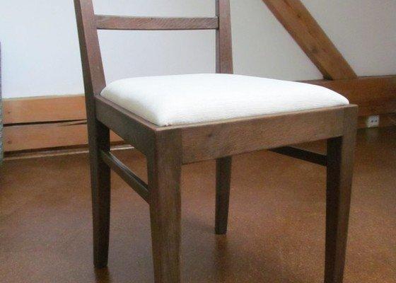 Přečalounění 4 jídelních židlí