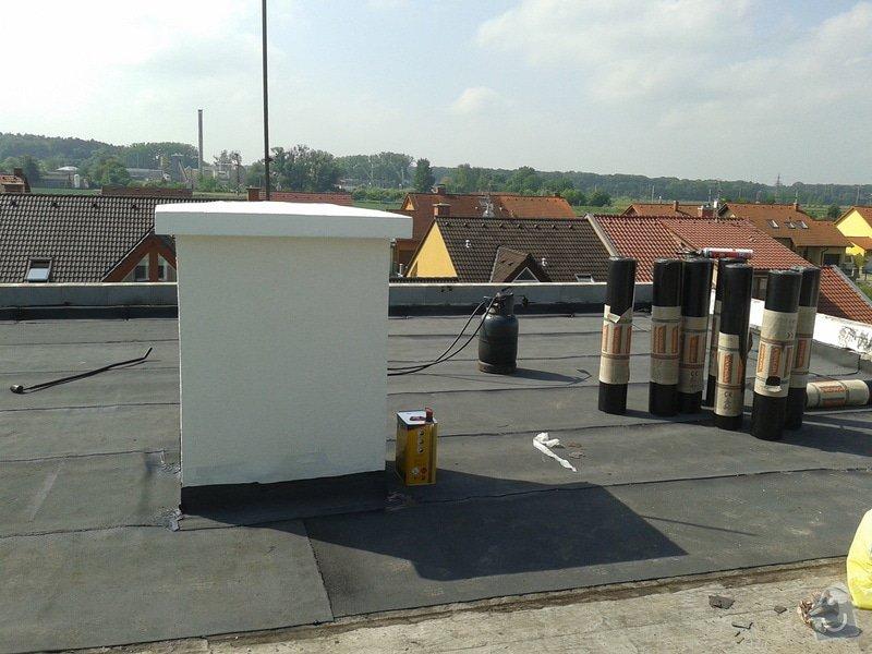 Rekonstrukce střechy: 20130608_095057